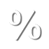 percentage rate icon
