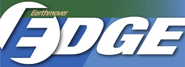 Earthmover Edge newsletter masthead