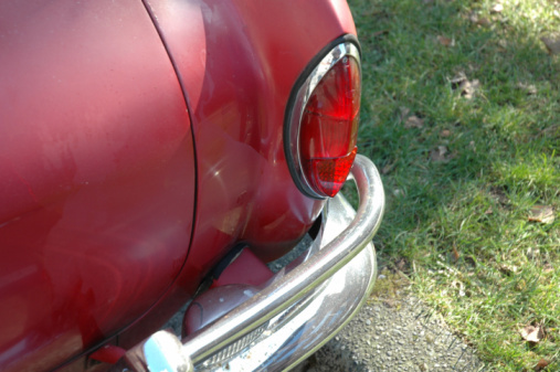 Red Volkswagon tail light